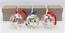 Sale 9255H - Lot 82 - A quantity of 4 Christofle Christmas ornaments to include; 3 x Etoiles, and another.