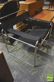 Sale 8310 - Lot 1064 - Wassily Style Armchair