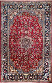 Sale 8307A - Lot 2 - Persian Kashan 265cm x 405cm RRP $4500