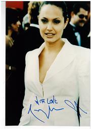 Sale 8555A - Lot 5075 - Angelina Jolie