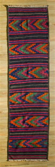 Sale 8680C - Lot 17 - Persian Kilim Runner 268cm x 73cm