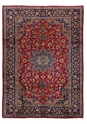 Sale 8770C - Lot 39 - A Persian Najafabad From Isfahan Region 100% Wool Pile On Cotton Foundation, 335 x 243cm