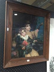 Sale 8771 - Lot 2075 - Framed Print - The Better Land