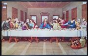 Sale 8826 - Lot 1016 - Framed Last Supper Print