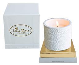 Sale 9138L - Lot 27 - Laguiole Maison Louis Thiers  ceramic candle - Mandarin