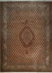 Sale 8402C - Lot 46 - Superfine Persian Silk Tabriz 210cm x 310cm