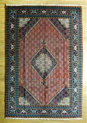 Sale 8680C - Lot 18 - Persian Tabriz 295cm x 204cm