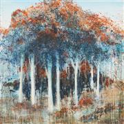 Sale 8773A - Lot 5029 - Suzi Zglinicki - Autumn Forrest 76.5 x 76.5cm