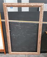 Sale 8777 - Lot 1005 - Large Ornately Carved Timber Frame
