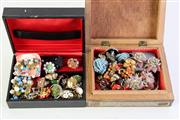 Sale 8994 - Lot 22 - Collection of Vintage Costume Earrings