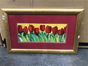 Sale 9028 - Lot 2079 - Anna Blotman, Still Life, acrylic on board, 49 x 79cm (frame), signed lower right