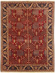 Sale 8536A - Lot 23 - An Hezaru Handspun Wool Carpet Afghan 320cm x 250cm RRP $6,900.00