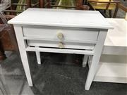 Sale 8805 - Lot 1025 - Timber 2 Drawer Bedside