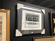 Sale 8816 - Lot 2068 - Framed Australia v England Photographic Print, 1959, 3rd Test at Sydney Cricket Ground