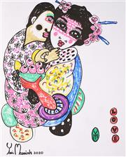 Sale 8958 - Lot 2022 - Yosi Messiah (1964 - ) - Love, 2020 65 x 50 cm