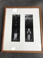 Sale 8964 - Lot 2088 - Framed Photograph- Nudes in Landscape (64 x 54cm)