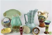 Sale 8524 - Lot 13 - Beswick Vase Together with Other Ceramics inc Diana, Crown Devon and Limoges