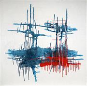 Sale 9038 - Lot 576 - Karen Blandford (1968 - ) - Untitled Series Phase Four, 2007 183 x 183 cm