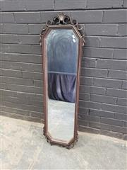 Sale 9034 - Lot 1068 - Ornate Framed Mirror (125 x 38cm)