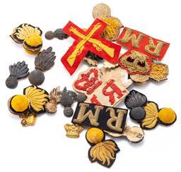 Sale 9190E - Lot 82 - A collection of military uniform patches