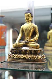 Sale 8285 - Lot 3 - Bronze Buddha