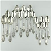 Sale 8332 - Lot 101 - Russian Silver 875 Standard Spoons