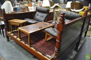 Sale 8390 - Lot 1617 - Timber Queen Size Bed Frame with Slats