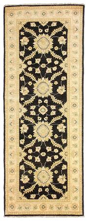 Sale 8536A - Lot 25 - An Hezari Handspun Wool Carpet Afghan  213cm x 81cm RRP $1,150.00