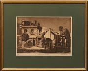 Sale 8663 - Lot 2105 - Cedric Emanuel (1906 - 1995) - Historic Dwellings, The Rocks 30 x 45.5cm