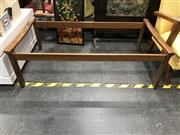 Sale 8805 - Lot 1021 - Tessa Glass Top Coffee Table