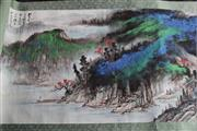Sale 8815C - Lot 19 - A Chinese Scroll Depicting Mountain Scene