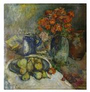 Sale 8828B - Lot 54 - Rene Clarot (1882 - 1972) Belgium - Still Life 65 x 64cm