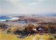 Sale 8958A - Lot 5012 - Ken Knight (1956 - ) - Gerringong 61 x 85 cm (frame: 86 x 109 x 8 cm)