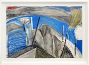Sale 8325 - Lot 505 - Idris Murphy (1949 - ) - Untitled, 1987 (The River) 60 x 90cm