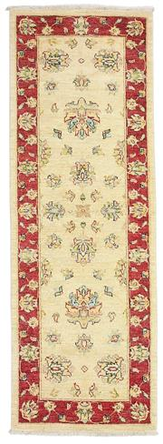 Sale 8536A - Lot 26 - An Hezari Handspun Wool Carpet Afghan 189cm x 65cm RRP $875.00