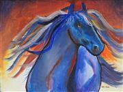 Sale 8964 - Lot 2070 - Greg Lipman (1938 -) - Blue Boy 76 x 102 cm (total: 76 x 102 x 4 cm)