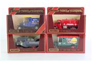 Sale 8960T - Lot 34 - A Set Of Four Matchbox Models of Yesteryear Toy Cars Incl Osram