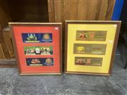 Sale 9087 - Lot 2079 - Original Sundowner and All Gold Labels (framed: 53 x 46cm, each) -
