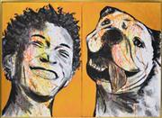 Sale 8339A - Lot 533 - Gillie & Marc (XX - ) - Untitled (diptych) 76 x 102cm