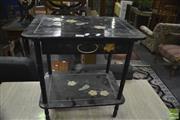 Sale 8386 - Lot 1093 - Oriental Single Drawer Side Table