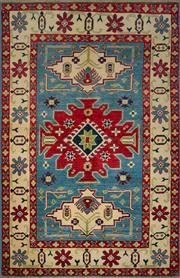 Sale 8439C - Lot 79 - Afghan Kazak 185cm x 120cm