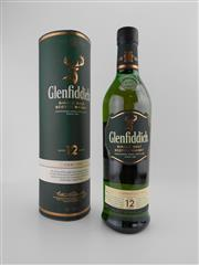 Sale 8498 - Lot 1734 - 1x Glenfiddich 12YO Signature Malt Single Malt Scotch Whisky - in canister