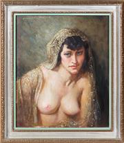 Sale 8486A - Lot 11 - Norman Lindsay - Rita 43 x 36cm