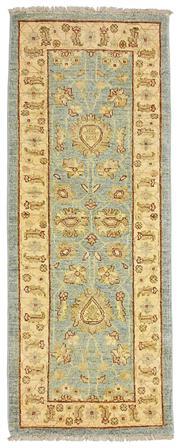 Sale 8536A - Lot 27 - An Hezari Handspun Wool Runner Afghan  173cm x 66cm RRP $750.00