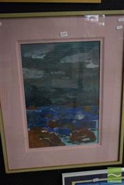 Sale 8518 - Lot 2038 - Artist Unknown Seascape, acrylic on canvas, 70 x 50cm (frame size), unsigned