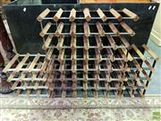 Sale 8562 - Lot 1081 - Three Varied Wine Racks