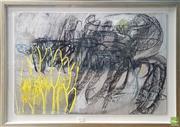 Sale 8595 - Lot 2039 - Julianne Lord, Pollen Series III, pastel on paper, 51.5 x 72cm (frame: 54 x 84cm), unsigned