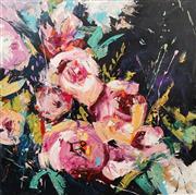 Sale 8657A - Lot 5021 - Cheryl Cusick - Floriade II 102 x 102cm