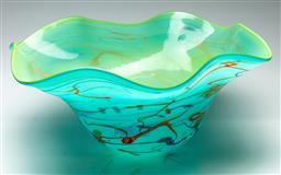 Sale 9211 - Lot 98 - A Large Art Glass Bowl (Dia:62cm)