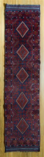 Sale 8680C - Lot 24 - Persian Baluchi 245cm x 63cm